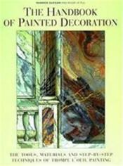 Handbook of painted decoration - Couverture - Format classique