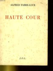 Haute Cour - Couverture - Format classique
