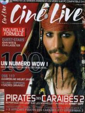 CINE LIVE - N° 100 - Pirates des caraïbes 2 - Couverture - Format classique