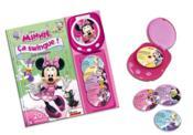 La boutique de Minnie ; ça swingue ; mon premier lecteur CD - Couverture - Format classique
