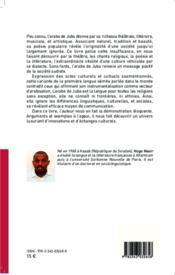 Théâtre, littérature et chants d'église en arabe de Juba - 4ème de couverture - Format classique