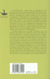 La gouvernance par les nombres - 4ème de couverture - Format classique