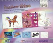 Je dessine mon cheval Rainbow Shine - 4ème de couverture - Format classique