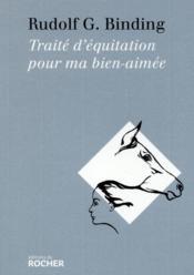 Traité d'équitation pour ma bien aimée - Couverture - Format classique