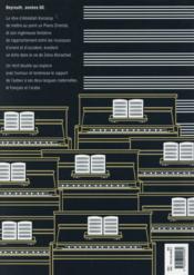 Le piano oriental - 4ème de couverture - Format classique