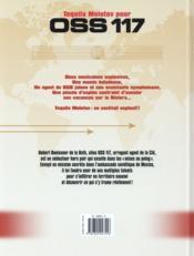 OSS 117 t.1 ; tequila molotov pour OSS 117 - 4ème de couverture - Format classique