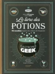 Le livre des potions par Gastronogeek - Couverture - Format classique