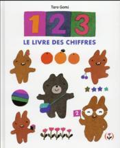 1, 2, 3, le livre des chiffres - Couverture - Format classique