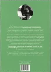 La Grande Bouffe d'Ugo T ognazzi ; ses grandes recettes & le film culte de Marco Ferreri - 4ème de couverture - Format classique