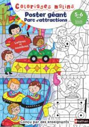 Poster géant ; parc d'attractions ; grande section ; 5/6 ans (édition 2018) - Couverture - Format classique