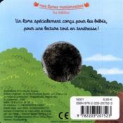 Bébé Paresseux - 4ème de couverture - Format classique
