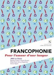 Francophonie - Couverture - Format classique