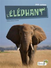 L'éléphant - Couverture - Format classique