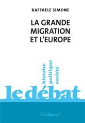 La grande migration et l'Europe - Couverture - Format classique