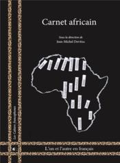 Carnet africain - Couverture - Format classique