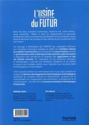 L'usine du futur : stratégies et déploiement ; industrie 4.0, de l'IoT aux jumeaux numériques (2e édition) - 4ème de couverture - Format classique