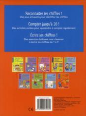 Mon bloc de jeux et d'exercices ; premiers pas vers le calcul ; de 5 à 6 ans - 4ème de couverture - Format classique