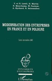 Modernisation Des Entreprises En France Et En Pologne - Intérieur - Format classique