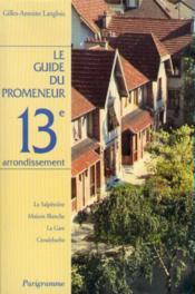 Le 13e arrondissement - Couverture - Format classique