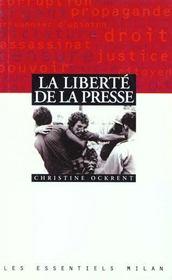 La liberte de la presse - Intérieur - Format classique