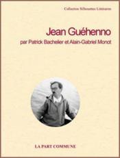 Jean guéhenno - Couverture - Format classique
