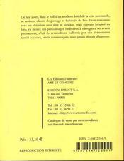 Blason à dorer - 4ème de couverture - Format classique