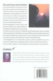 Amour. Violence Vus Par Le Bouddhisme - 4ème de couverture - Format classique