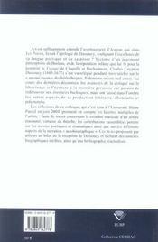 Avez-vous lu dassoucy ?. colloque international du cerhac, clermont-f errand, 25 et 26 juin 2004 - 4ème de couverture - Format classique