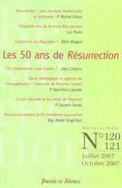 Revue résurrection ; résurrection t.120-121 - Intérieur - Format classique
