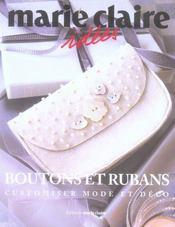 Boutons et rubans - Intérieur - Format classique