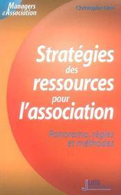 Strategies des ressources pour l'association. panorama, regles et methodes - 1ere ed. - Intérieur - Format classique