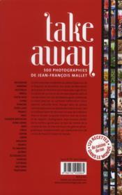Take away ; 12 recettes de cuisine de rue dans le monde - 4ème de couverture - Format classique