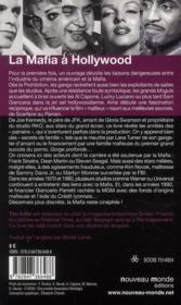 La mafia à Hollywood - 4ème de couverture - Format classique