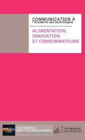 Alimentation, innovation et consommateurs - Couverture - Format classique