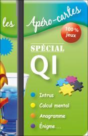 Apéro-cartes ; spécial QI - Couverture - Format classique