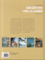 Quelques pas vers la lumière t.5 ; le livre de la vie - 4ème de couverture - Format classique