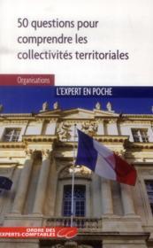 50 questions pour comprendre les collectivités territoriales - Couverture - Format classique
