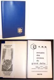 2e D.B. Annuaire des anciens du grand Delta 1973 / Saône, Rhône, Alpes, Languedoc, Roussillon, Provence, Côte d'Azur, Corse (alphabétique, professionnel, départemental) - Couverture - Format classique
