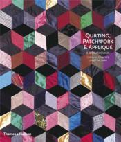 Quilting patchwork and applique - Couverture - Format classique