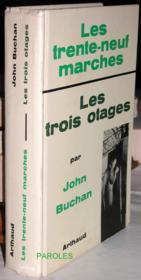 Les Trente-neuf marches - Les Trois otages. - Couverture - Format classique