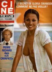 Cine Revue - Tele-Programmes - 58e Annee - N° 38 - La Carapate - Couverture - Format classique