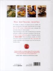 Le grand livre de la cuisine ; femme actuelle - 4ème de couverture - Format classique