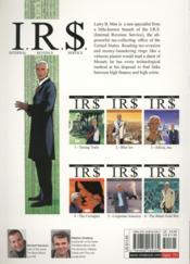 I.R.S. T.6 ; the black gold war - 4ème de couverture - Format classique