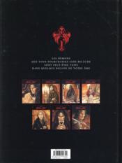 Le prince de la nuit T.7 ; la première mort - 4ème de couverture - Format classique