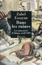 Dans les ruines ; les massacres d'Adana, avril 1909 - Couverture - Format classique