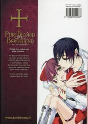 Pure blood boyfriend t.9 - 4ème de couverture - Format classique