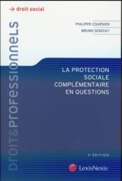 La protection sociale complémentaire en questions (2e édition) - Couverture - Format classique