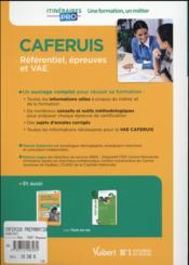 Caferius ; préparation complète pour réussir sa formation (6e édition) - 4ème de couverture - Format classique