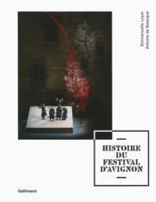 Histoire du festival d'Avignon - Couverture - Format classique