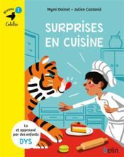 Surprises en cuisine - Couverture - Format classique